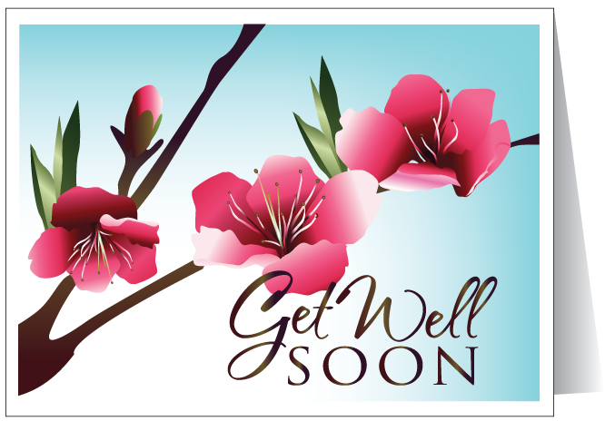 Get Well Soon Wishes E-Card