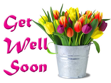 Get Well Soon Wonderful Flowers For You Image