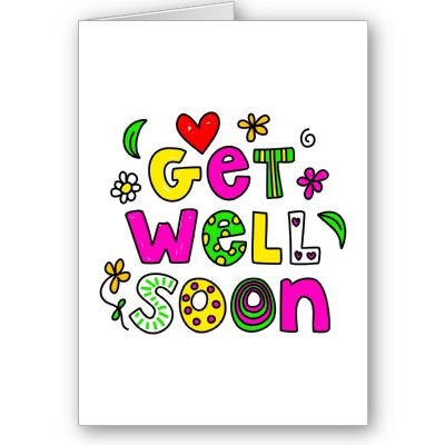 Get Well Soon Wonderful Handmade E-Card