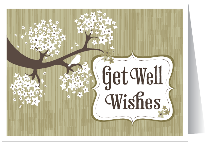 Get Well Wishes E- Card Picture