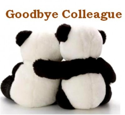 Good Bye Colleague Panda iMAGE