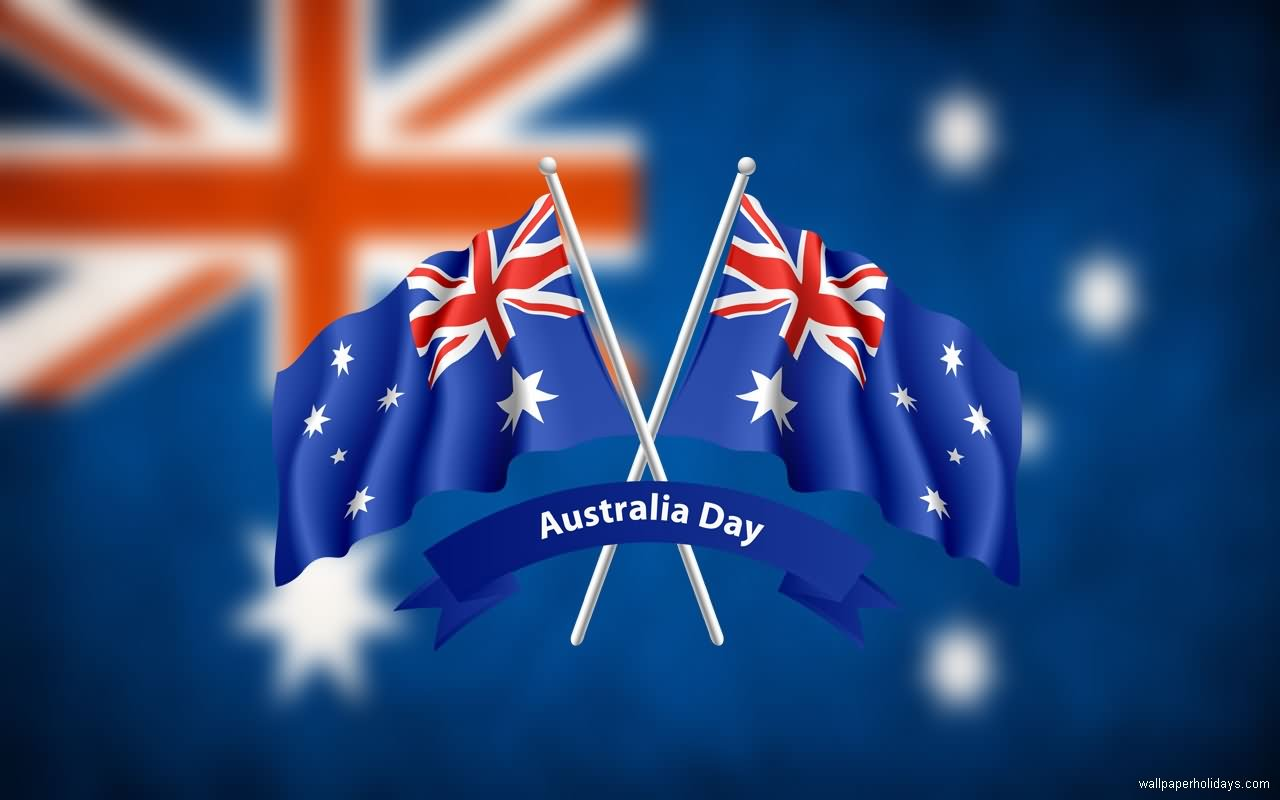 Happy Australia Day Flags Image (2)