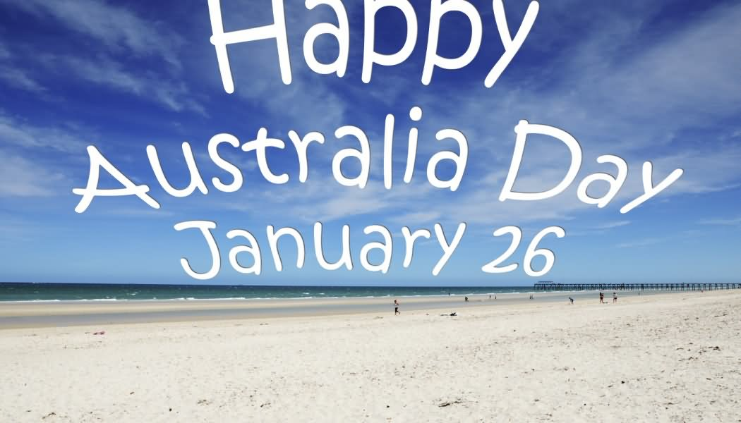 Happy Australia Day January 26