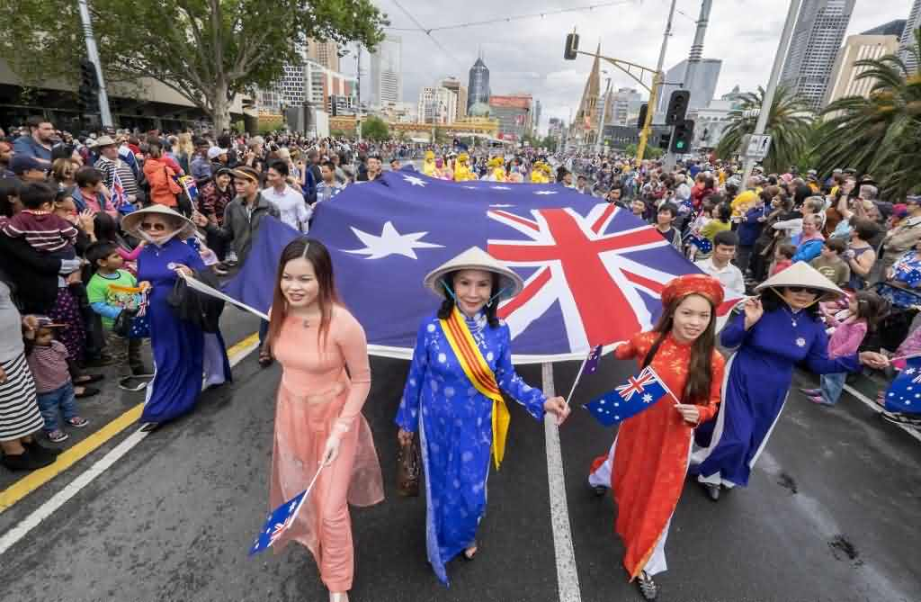 Happy Australia Day Parade
