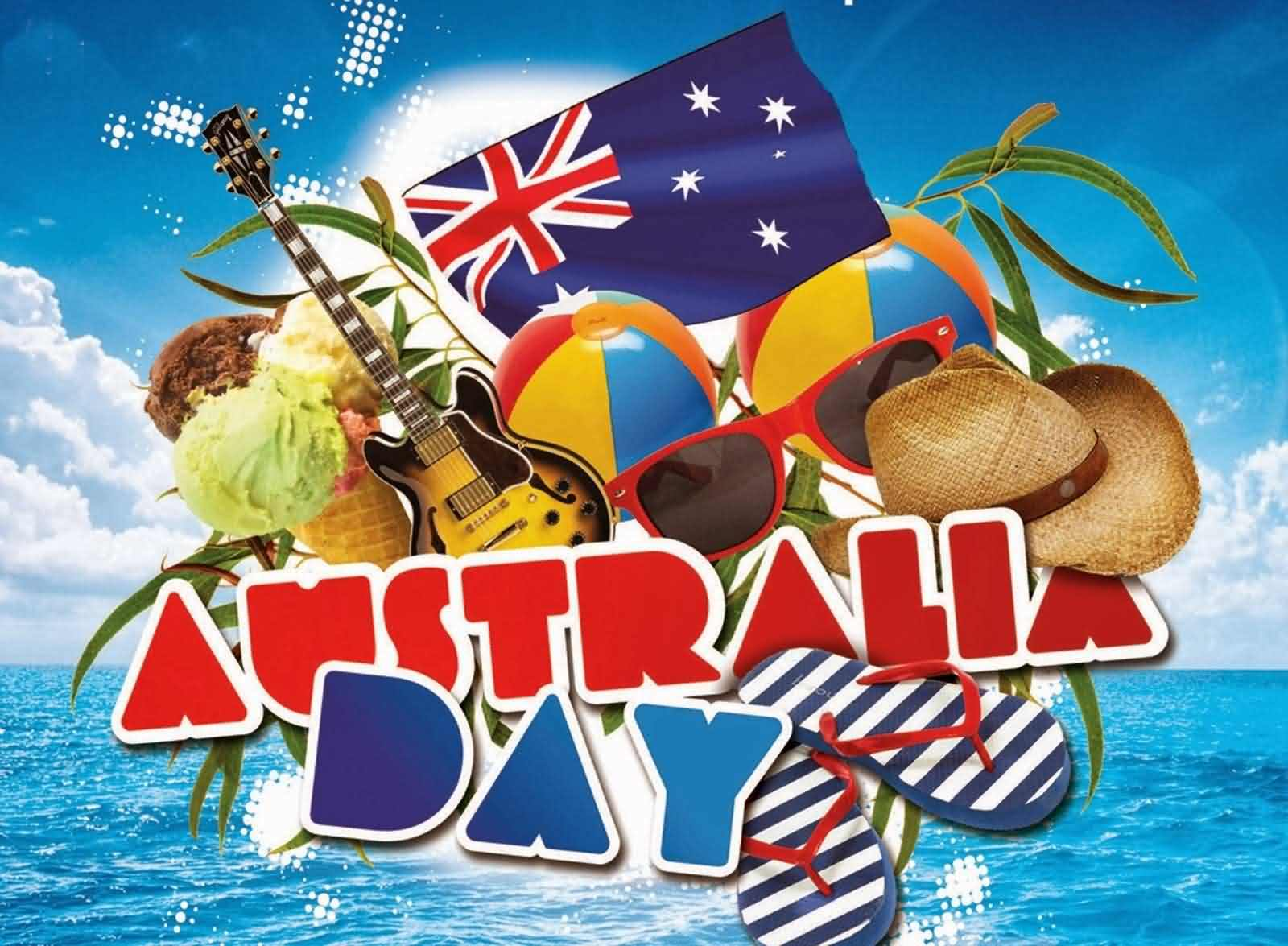 Happy Australia Day Wishes Picture