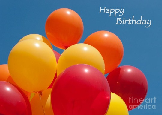 Happy Birthday Balloons Image