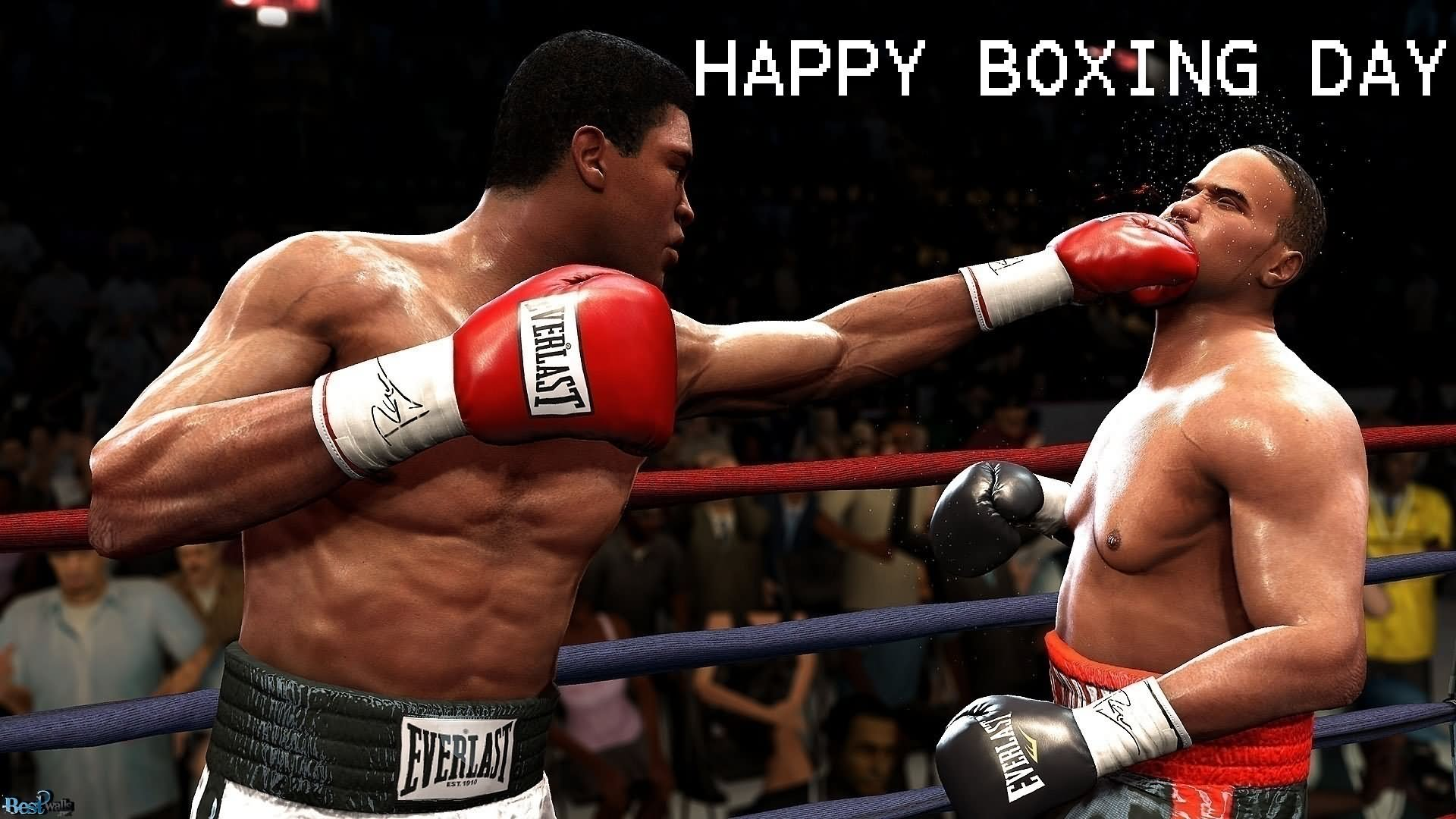 Happy Boxing Day Game Graphic