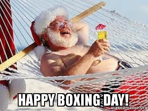 Happy Boxing Day Wishes By Santa