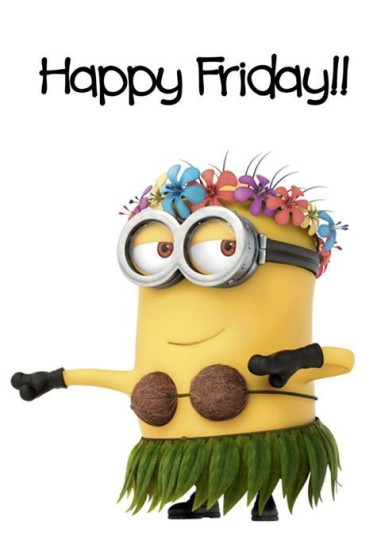 Happy Friday Funny Minion Wishes Image