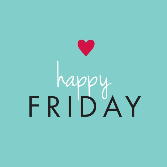 Happy Friday Greeting Image