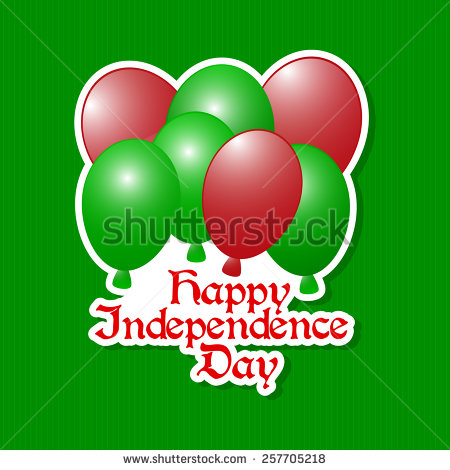 Happy Independence Day Bangladesh Balloons Image