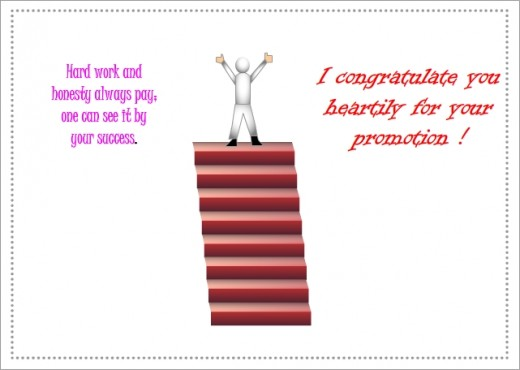 I Congratulate You Heartily For Your Promotion Greeting Picture