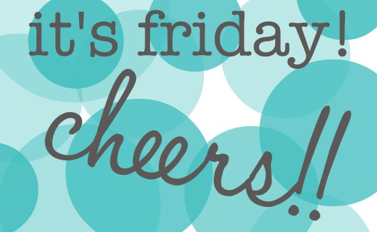 Its Friday Cheers Image