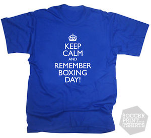 Keep Calm And Remember Boxing Day Tshirt