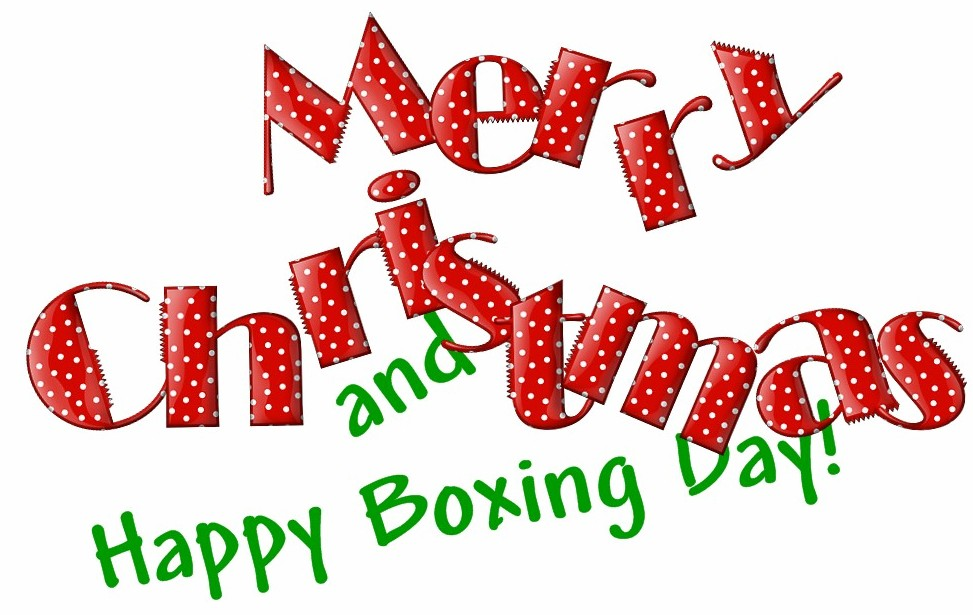 Merry Christmas And Happy Boxing Day Image