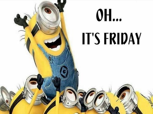 Minion Says It's Friday Image
