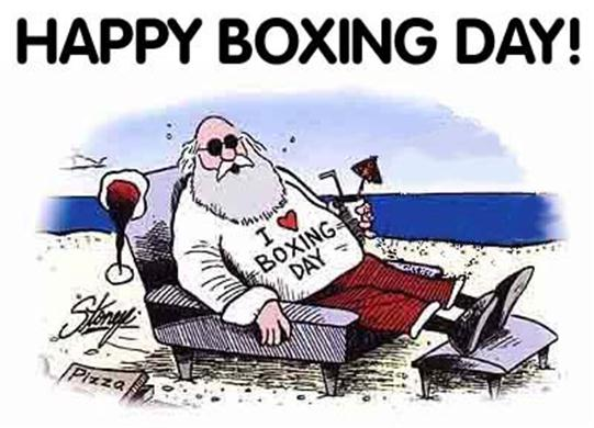 Santa Says I Love Boxing Day Picture