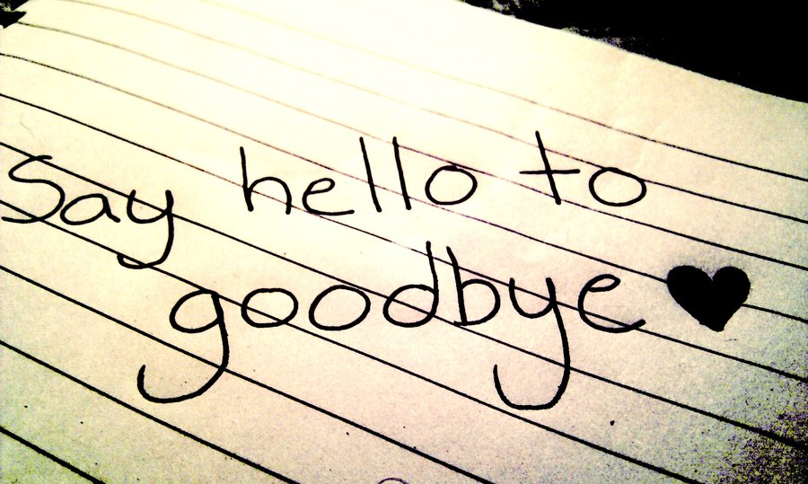Say Hell To Good Bye Wishes Image