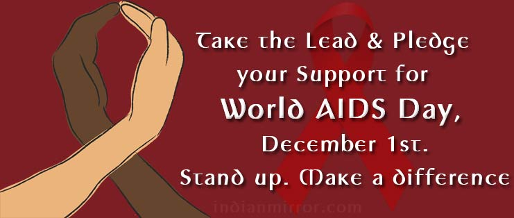 Take The Lead Pledge Your Support For World Aids Day December 1st