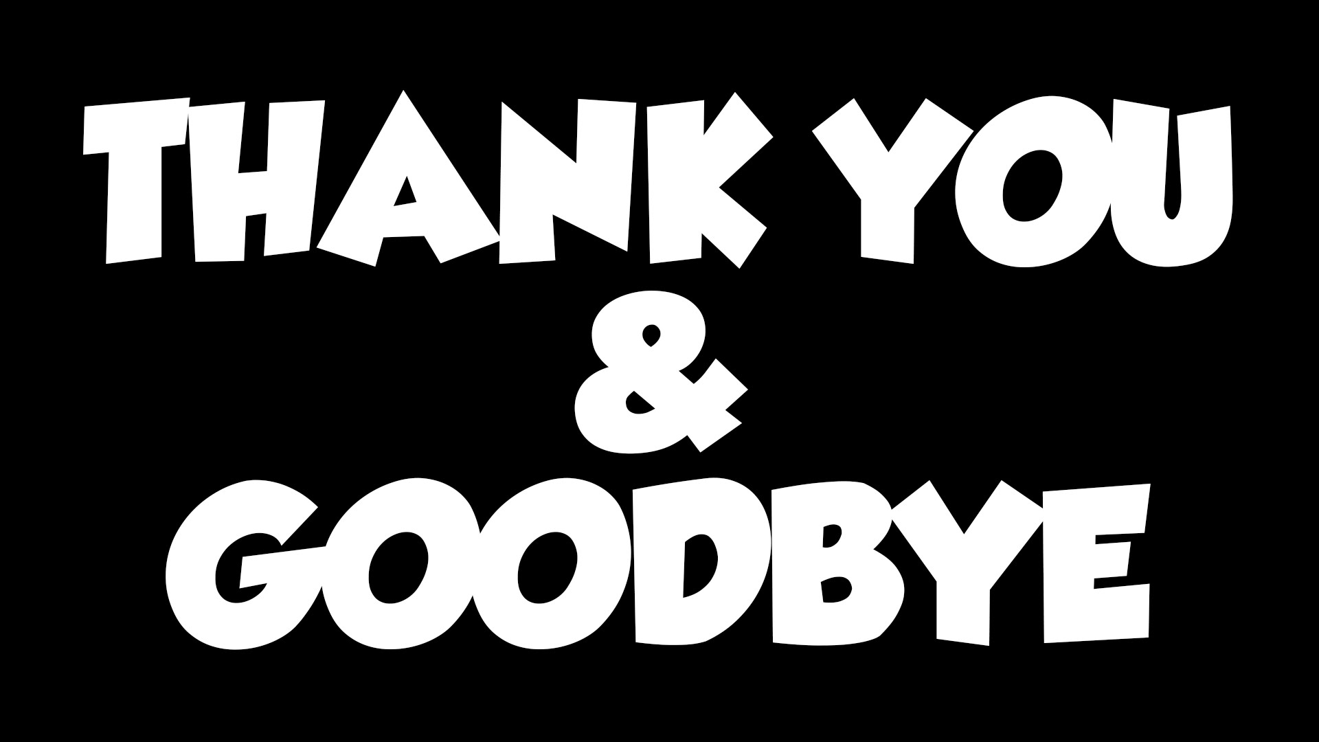 Thank You Goodbye Wishes Picture