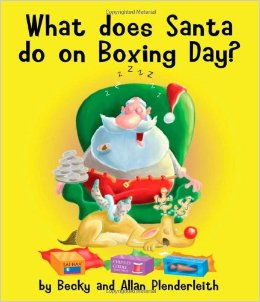 What Does Santa Do On Boxing Day Card