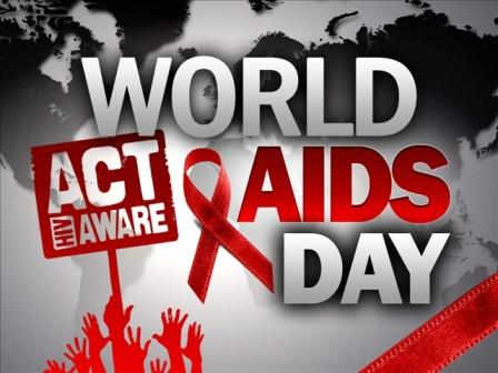 World Aids Day Act HIV Aware