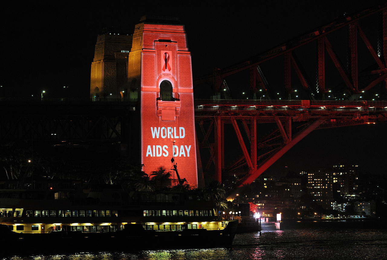 World Aids Day Building Picture