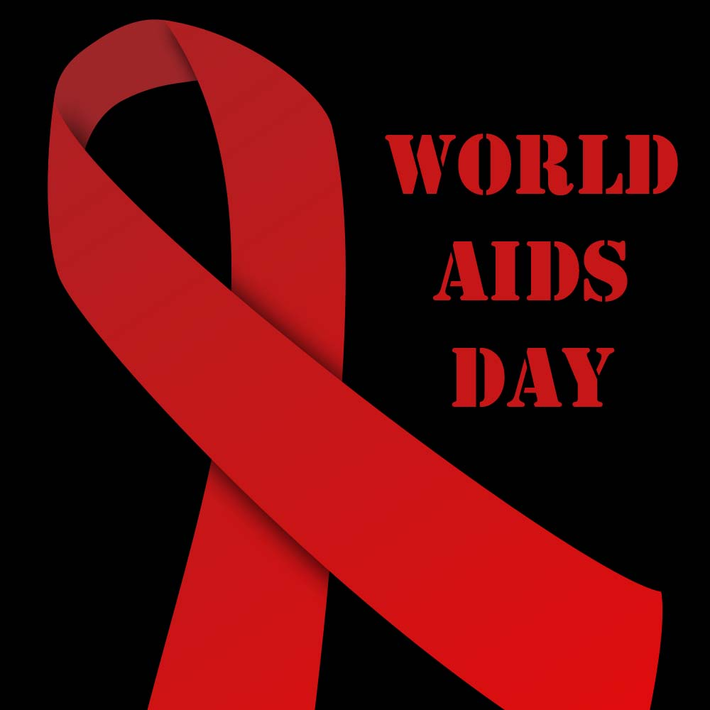 World Aids Day Red Ribbon Logo