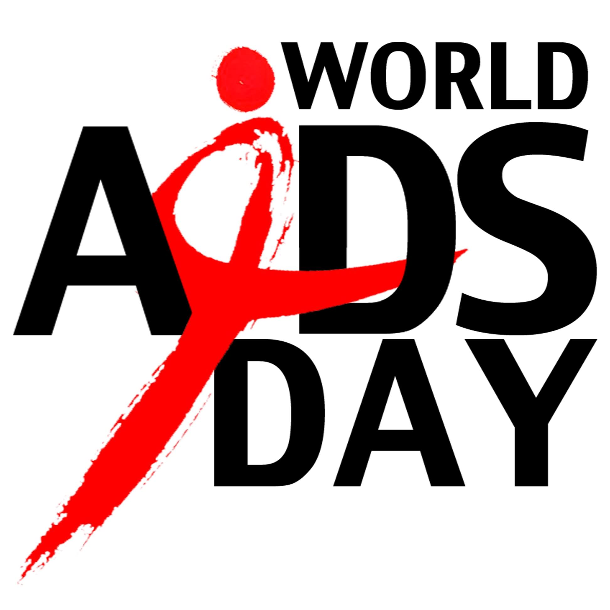 World Aids Day With Logo