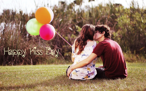 109-Kiss Day Wishes