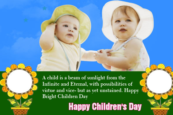 111-Happy Children Day Wishes