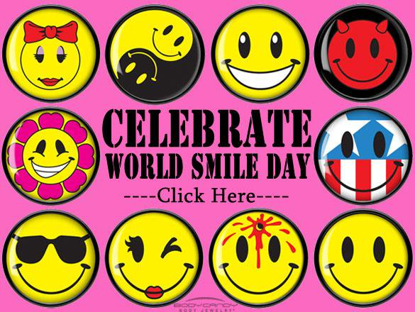 12-World Smile Day Wishes
