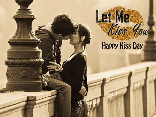 122-Kiss Day Wishes