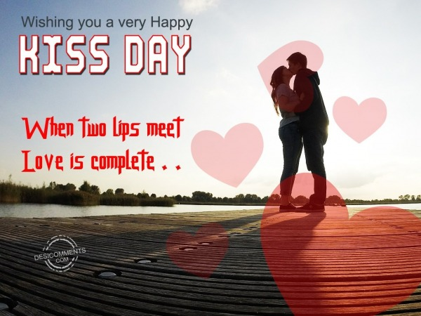 124-Kiss Day Wishes