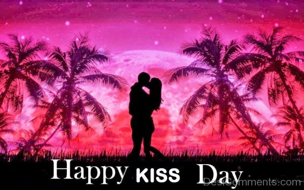 133-Kiss Day Wishes
