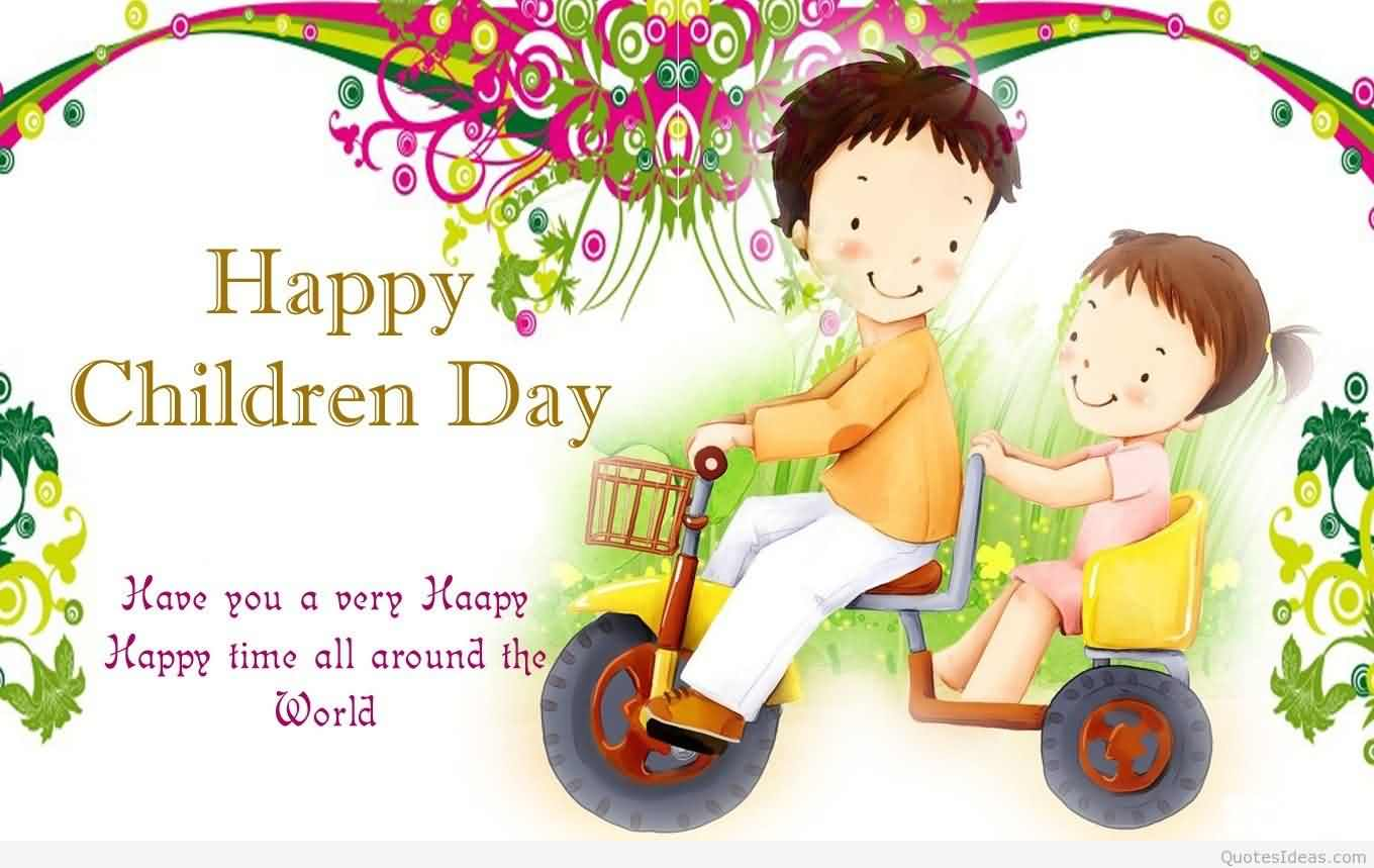 149-Happy Children Day Wishes