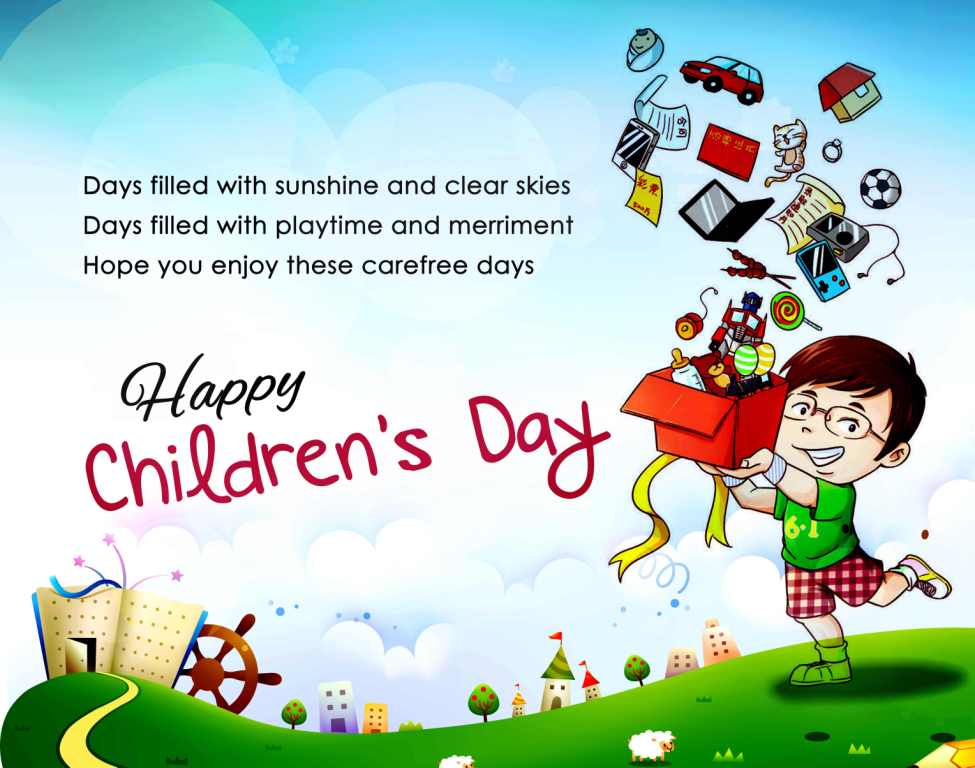 152-Happy Children Day Wishes