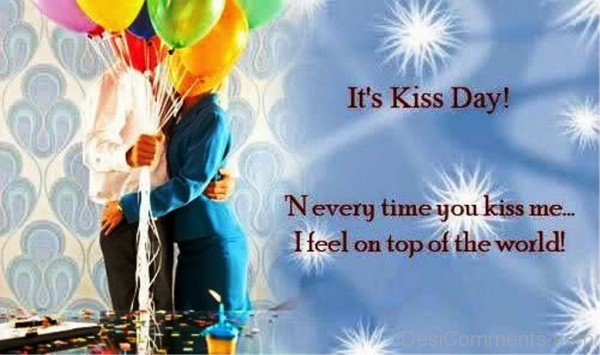 156-Kiss Day Wishes