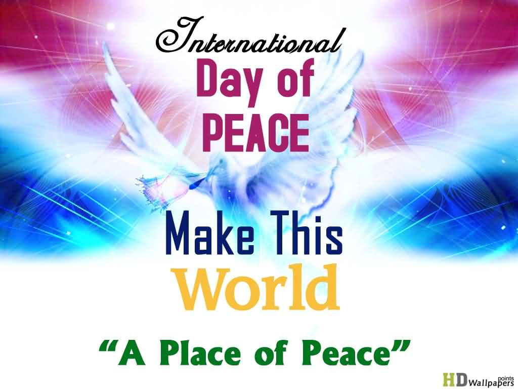 160-International Peace Day Wishes