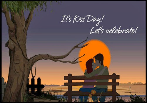 178-Kiss Day Wishes