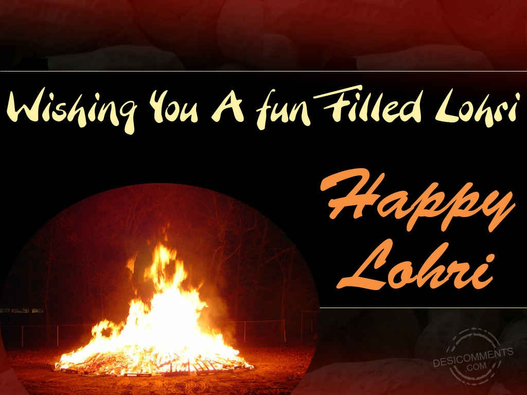 19-Happy Lohri Wishes