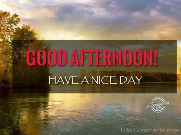 38-Good Afternoon