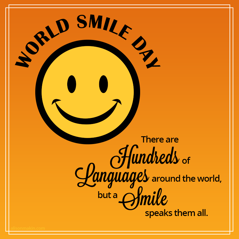 4-World Smile Day Wishes