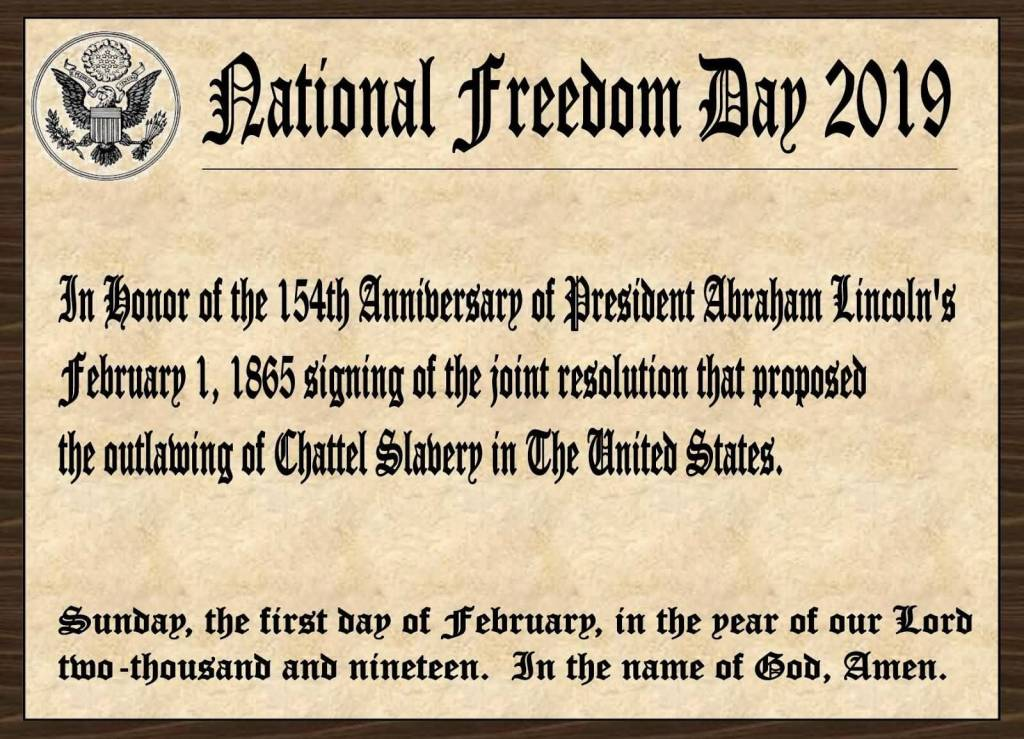 43-National Freedom Day