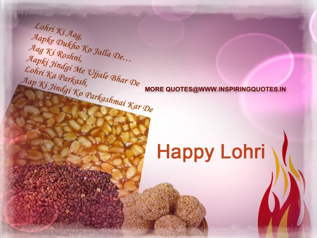 45-Happy Lohri Wishes