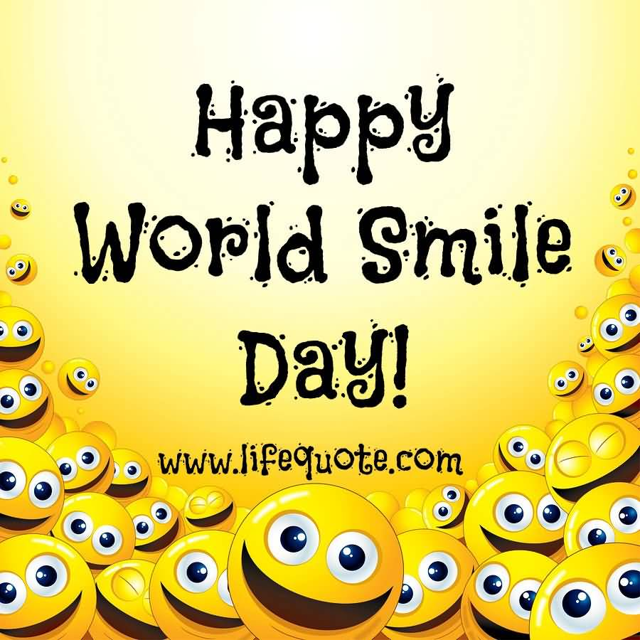 5-World Smile Day Wishes