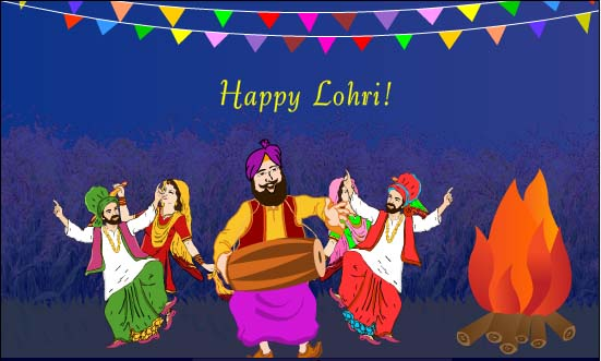 52-Happy Lohri Wishes