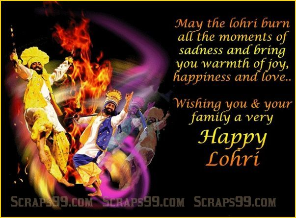 55-Happy Lohri Wishes