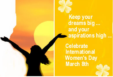 60-Happy Women's Day Wishes
