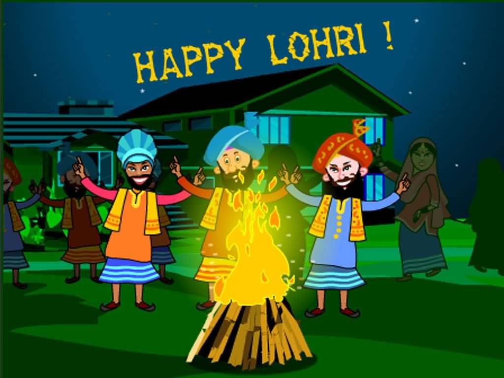 65-Happy Lohri Wishes